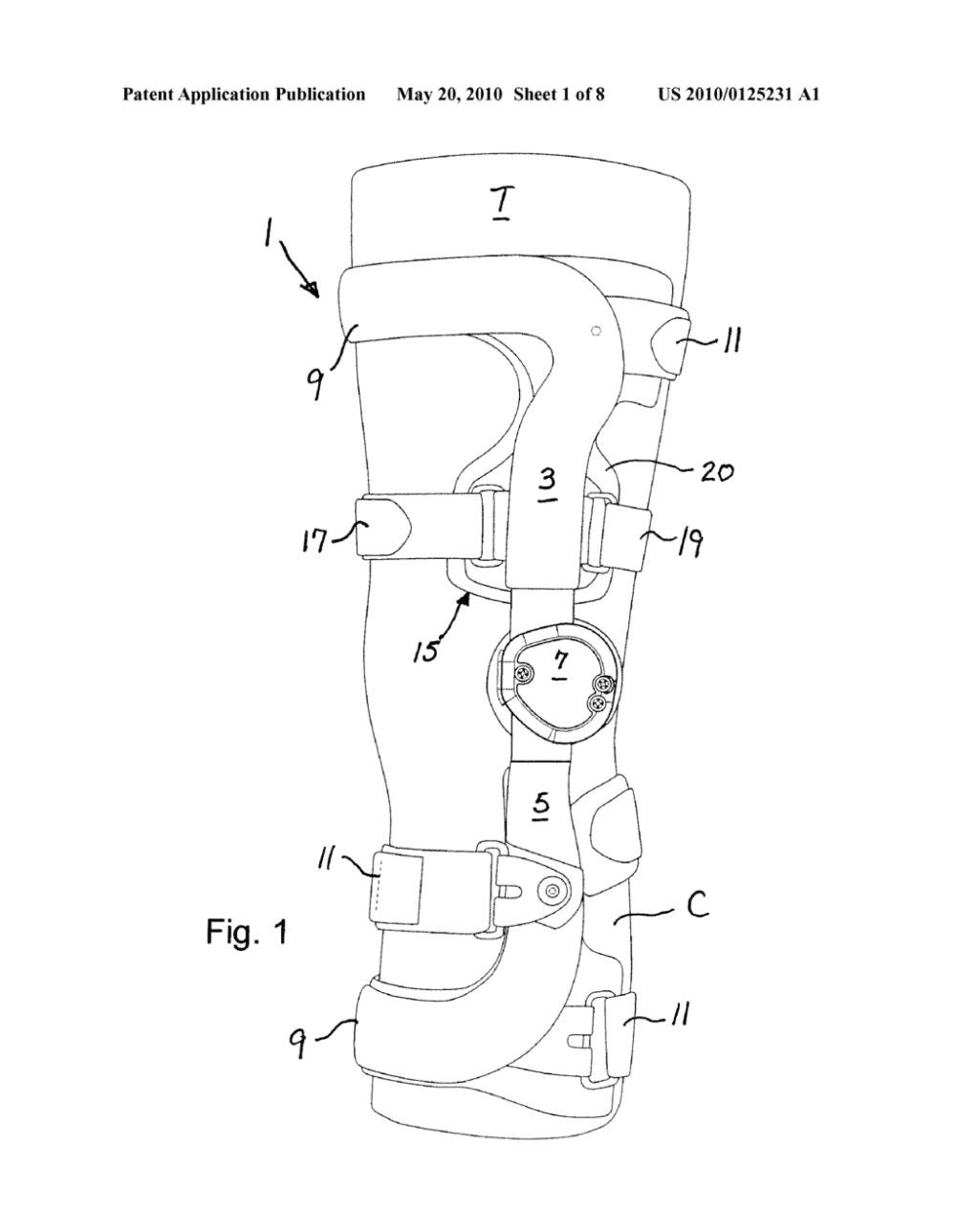 medium resolution of compression suspension strap assembly and knee brace equipped therewith diagram schematic and image 02