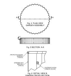 stressed skin structure for elevated raised bed horticulture diagram schematic and image 04 [ 1024 x 1320 Pixel ]