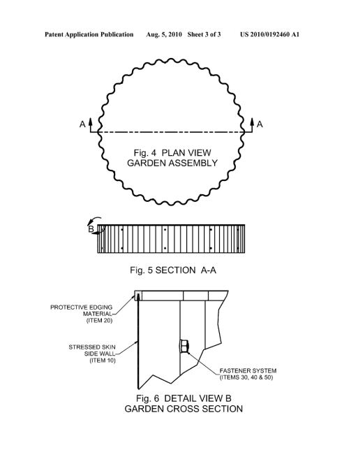 small resolution of stressed skin structure for elevated raised bed horticulture diagram schematic and image 04
