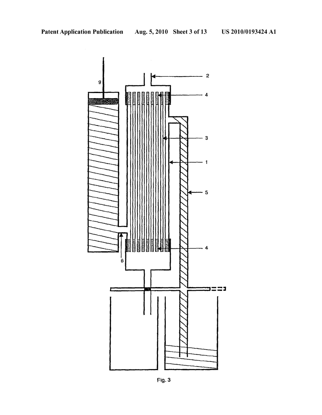 hight resolution of capillary membrane filter with manually activated backwash pump diagram schematic and image 04
