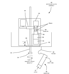 remote electrical tilt antenna with motor and clutch assembly diagram schematic and image 05 [ 1024 x 1320 Pixel ]