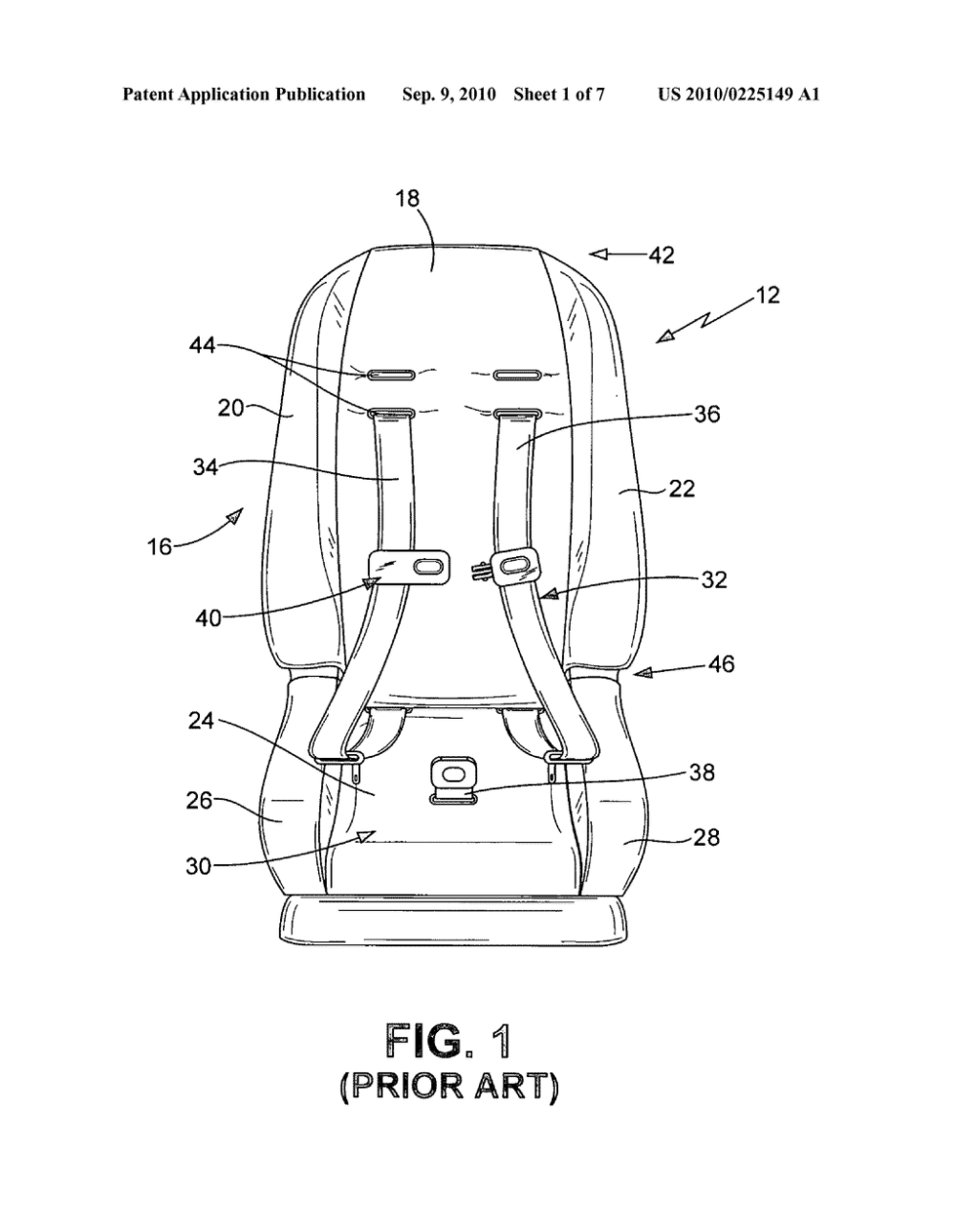 medium resolution of head support apparatus for child car seats diagram schematic and auto seat diagram car seats diagram