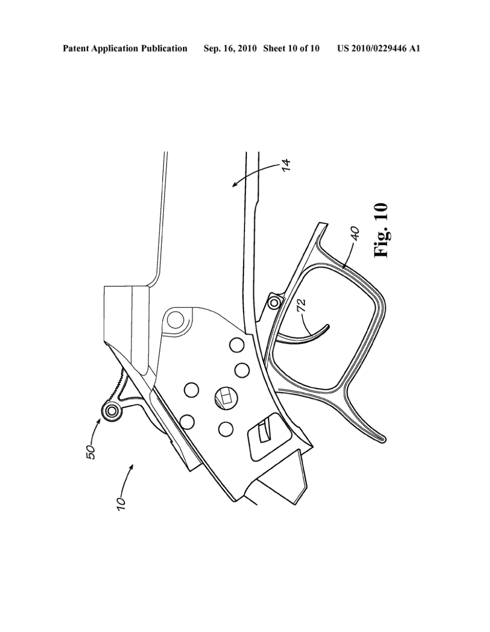 medium resolution of break action firearm and trigger mechanism diagram schematic and image 11
