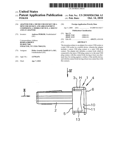 small resolution of adapter for a micro usb socket or a mini usb socket and arrangement comprising a mobile device a mount and an adapter diagram schematic and image 01