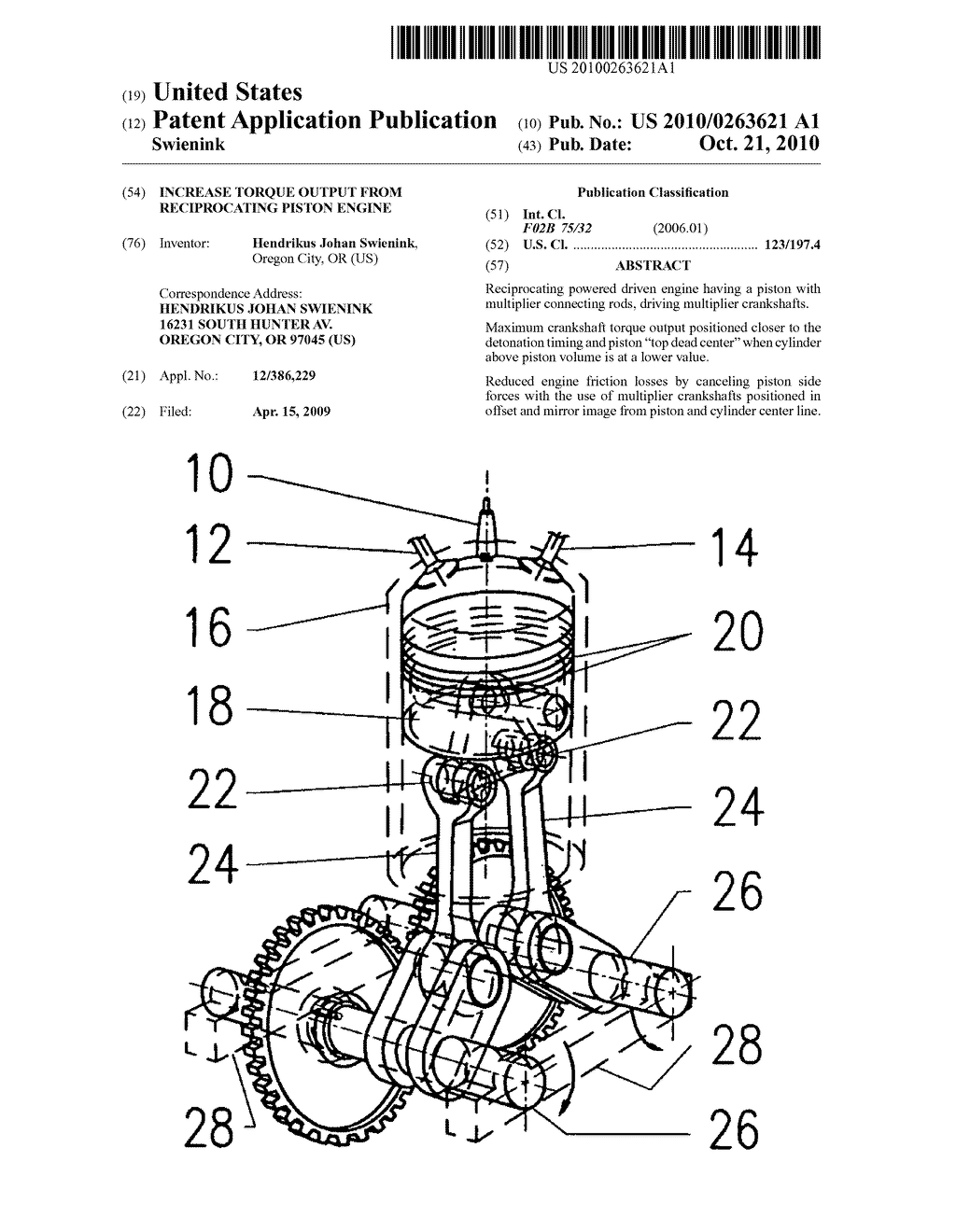 Reciprocating Engine Diagram, Reciprocating, Free Engine