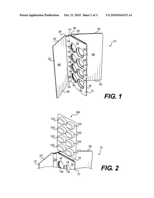 small resolution of book like packaging structure for receiving a blister pack diagram schematic and image 02