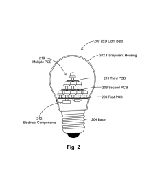 led light bulbs in pyramidal structure for efficient heat dissipation diagram schematic and image 03 [ 1024 x 1320 Pixel ]