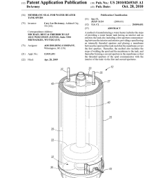 membrane seal for water heater tank spuds diagram schematic and image 01 [ 1024 x 1320 Pixel ]