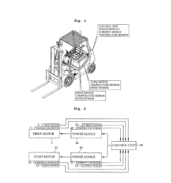 motor control method and control device for electrical forklift truck diagram schematic and image 02 [ 1024 x 1320 Pixel ]