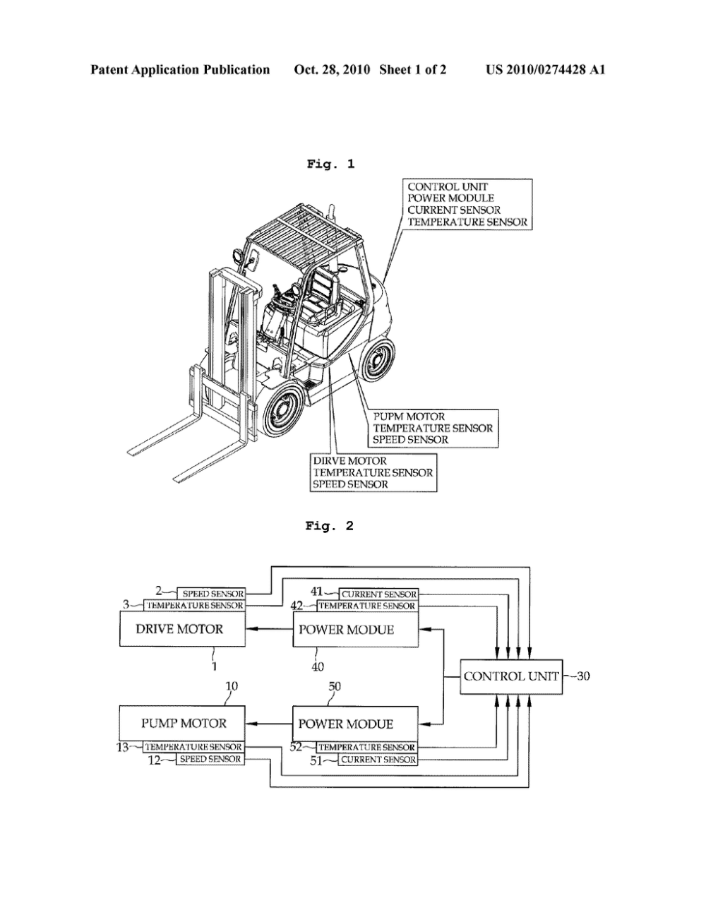 medium resolution of motor control method and control device for electrical forklift truck diagram schematic and image 02