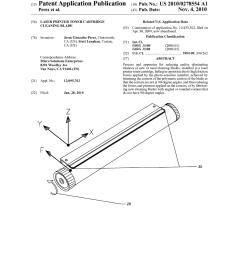 laser printer toner cartridge cleaning blade diagram schematic and image 01 [ 1024 x 1320 Pixel ]