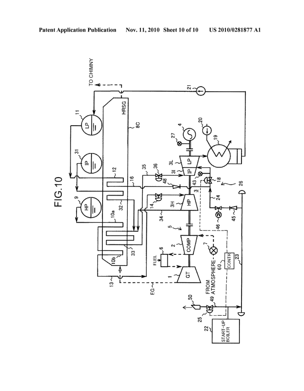 medium resolution of single shaft combined cycle power plant start up method an single shaft combined cycle power plant diagram schematic and image 11
