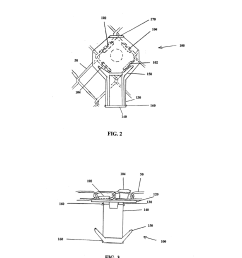 holder for attachment to chain link fence diagram schematic and image 03 [ 1024 x 1320 Pixel ]