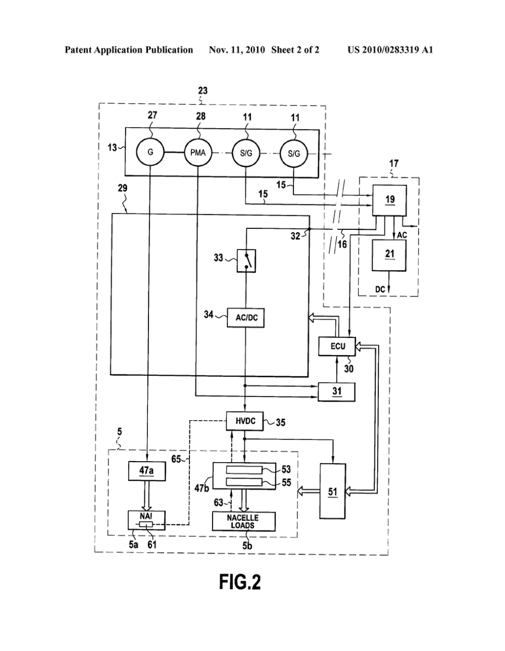 medium resolution of electrical power supply circuit in an aircraft for electrical equipment including a de icing circuit diagram schematic and image 03