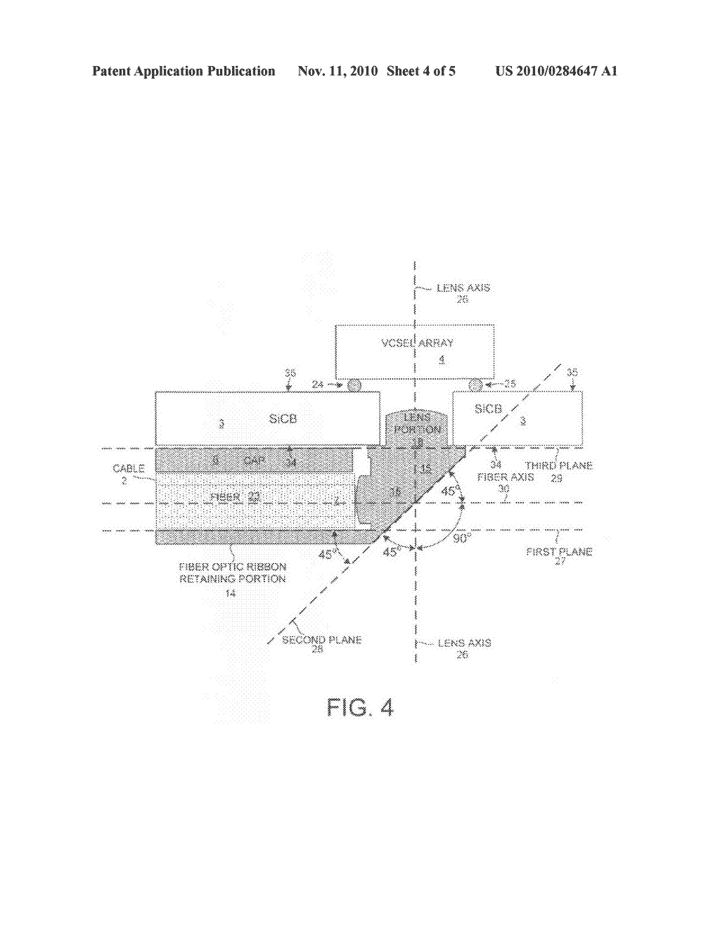 hight resolution of optical ribbon cable attachment mechanism for the backside of a circuit board diagram schematic and image 05