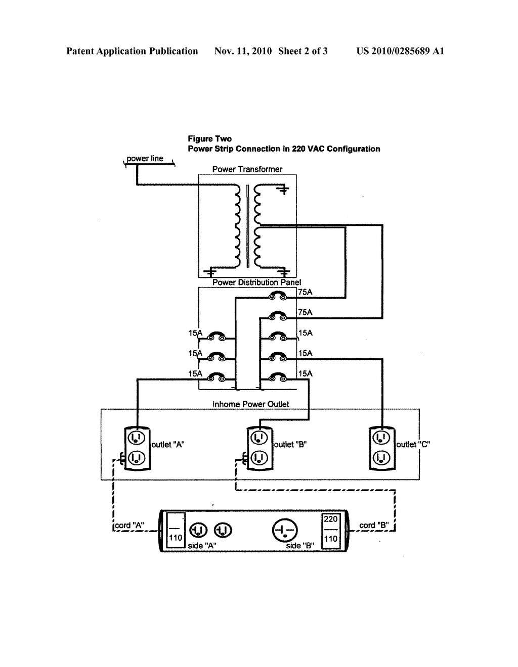 hight resolution of power strip schematic my wiring diagram power strip with 110 and 220 volt outlets diagram