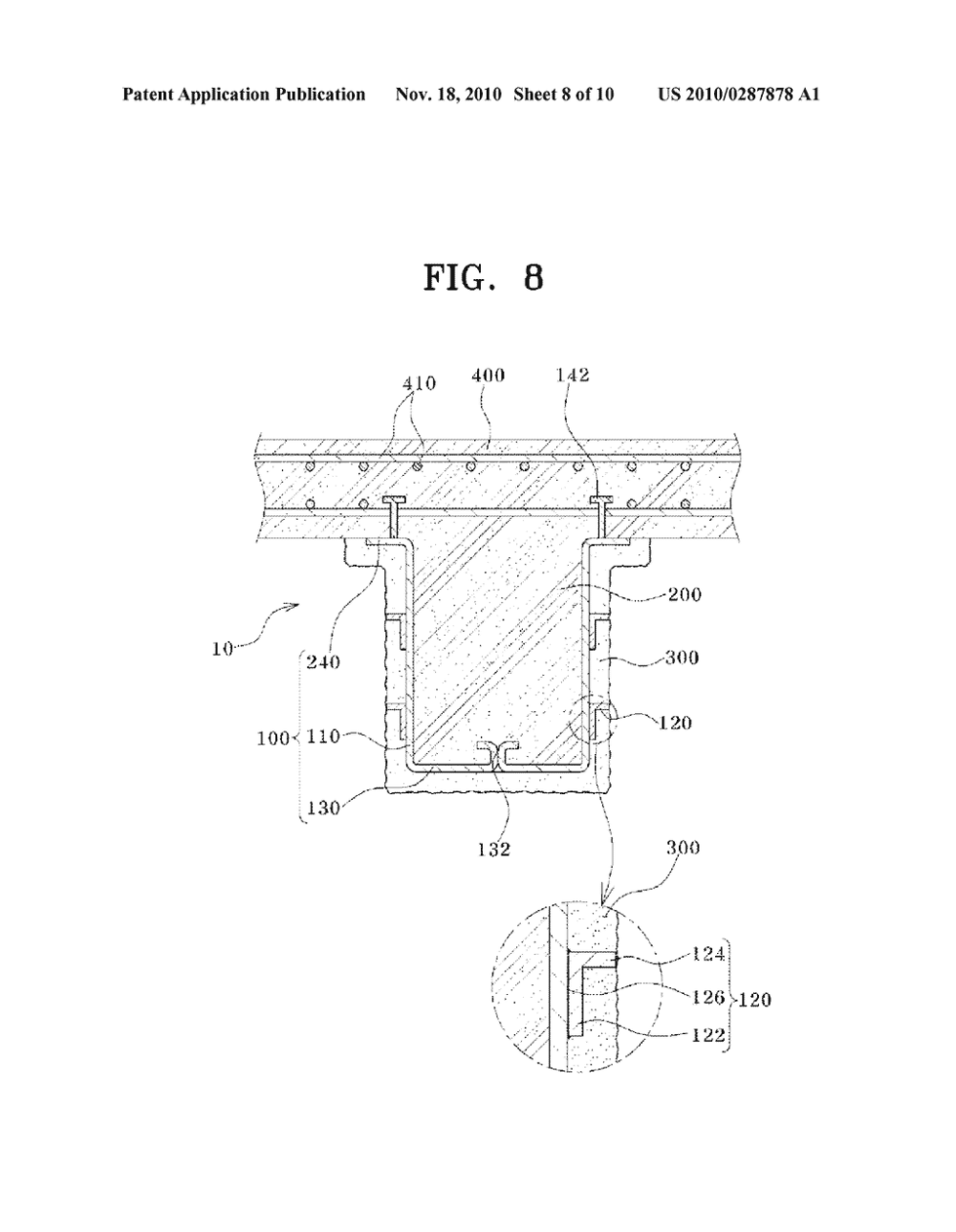 medium resolution of  steel and cast in place concrete having attached fire resistant coating material and constructing method of the schb diagram schematic and image 09