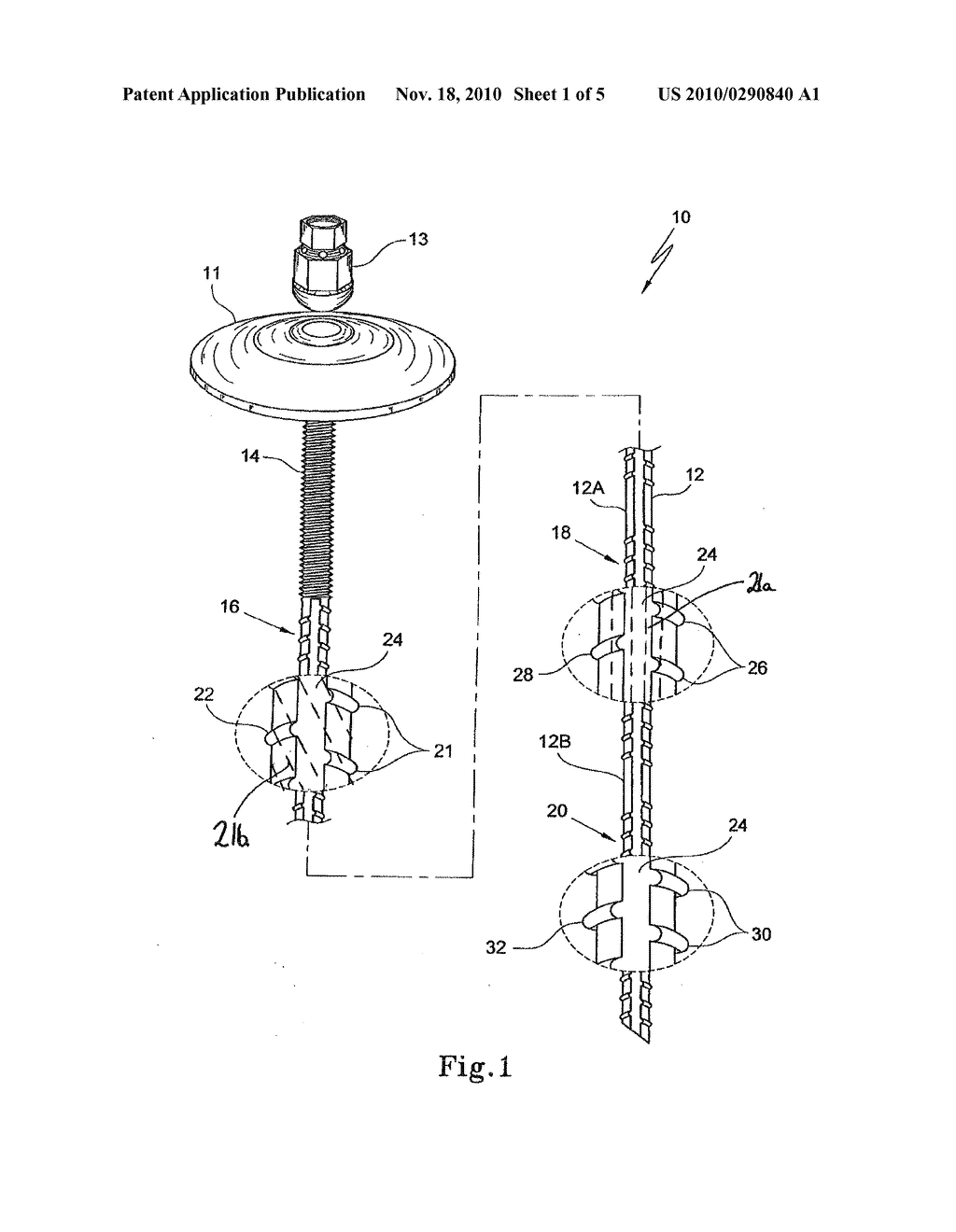 hight resolution of plastic rock bolt or dowel and method of manufacturing of the same diagram schematic and image 02