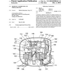 hermetic compressor and fridge freezer diagram schematic and image 01 [ 1024 x 1320 Pixel ]