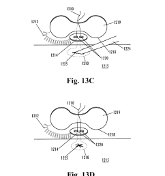 implantable purse string suture tensioning device diagram schematic and image 14 [ 1024 x 1320 Pixel ]