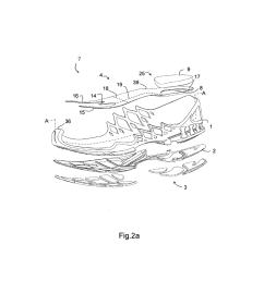 midsole for a shoe in particular a running shoe diagram schematic and image 04 [ 1024 x 1320 Pixel ]