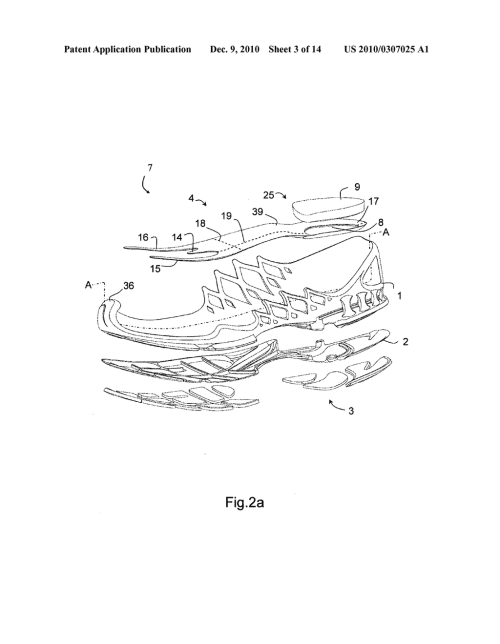 small resolution of midsole for a shoe in particular a running shoe diagram schematic and image 04