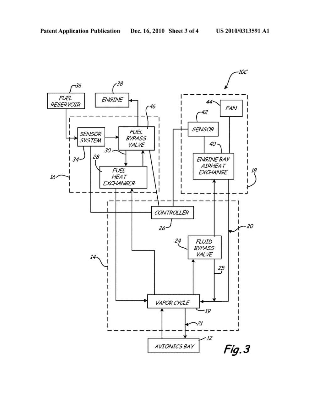 medium resolution of adaptive heat sink for aircraft environmental control system diagram schematic and image 04