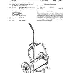 Scuba Gear Diagram 4l80e Transmission Wiring Hand Dolly For Transportation Of Diving Apparatus Schematic And Image 01