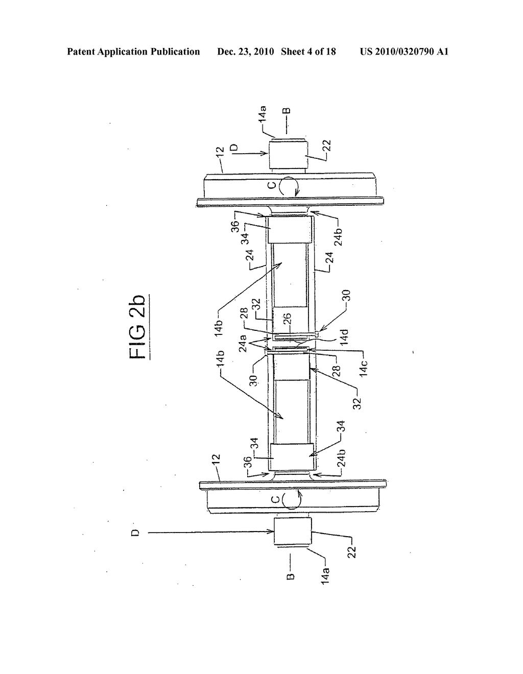 hight resolution of railway car independent axles with axle locking mechanism diagram schematic and image 05