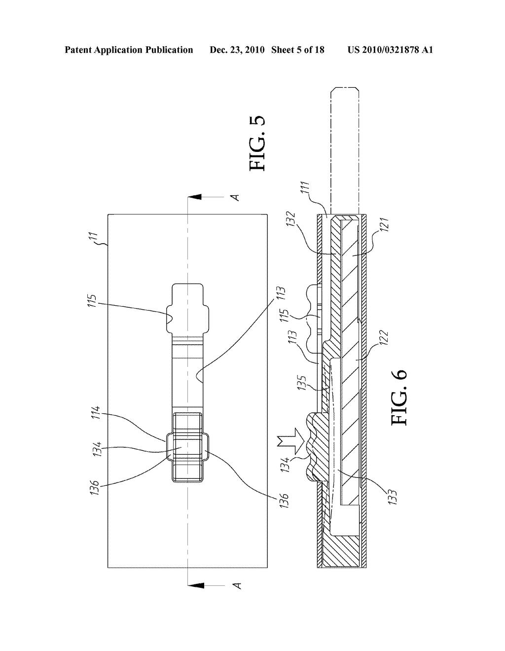 hight resolution of retractable usb memory stick diagram schematic and image 06 rh patentsencyclopedia com memory stick circuit diagram