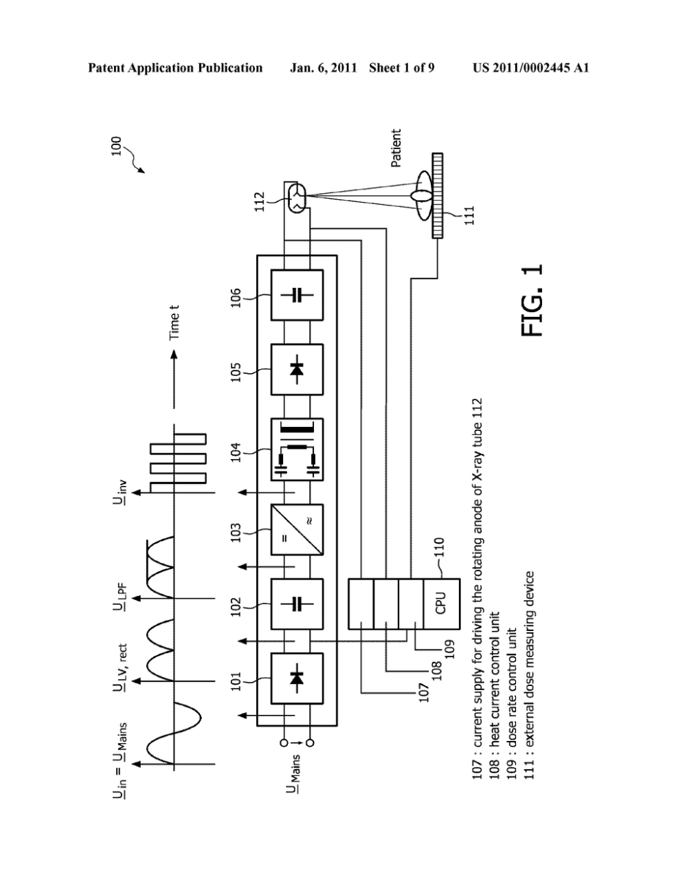 medium resolution of  power converter circuit in particular a dc dc converter for use in a high voltage generator circuitry of a modern computed tomography device or x ray