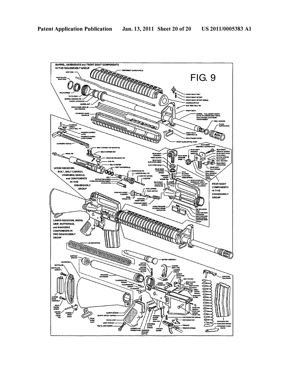 ar 15 lower diagram solar controller wiring schematic library cartridges and modifications for m16 ar15 rifle image 21