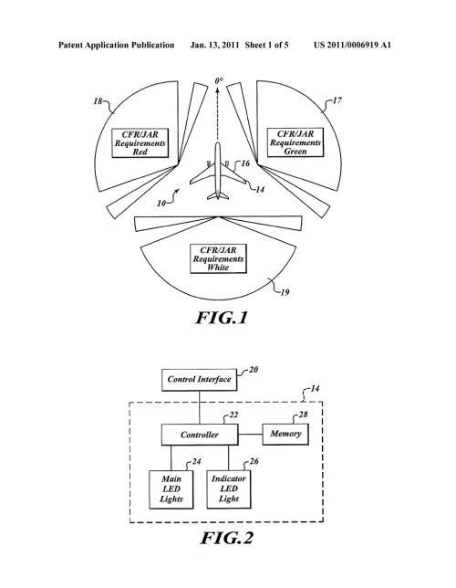 small resolution of near end of life indication for light emitting diode led aircraft navigation light diagram schematic and image 02