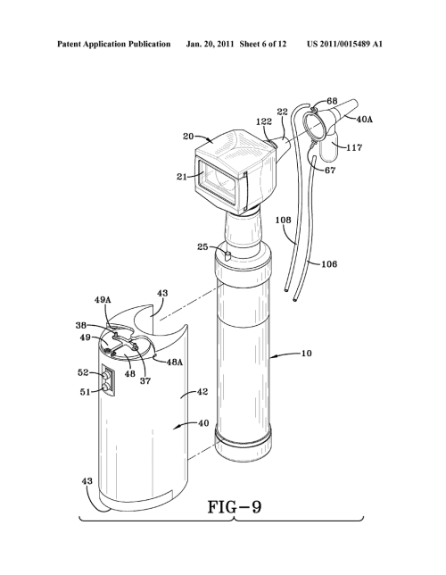 small resolution of otoscope with attachable ear wax removal device diagram schematic and image 07