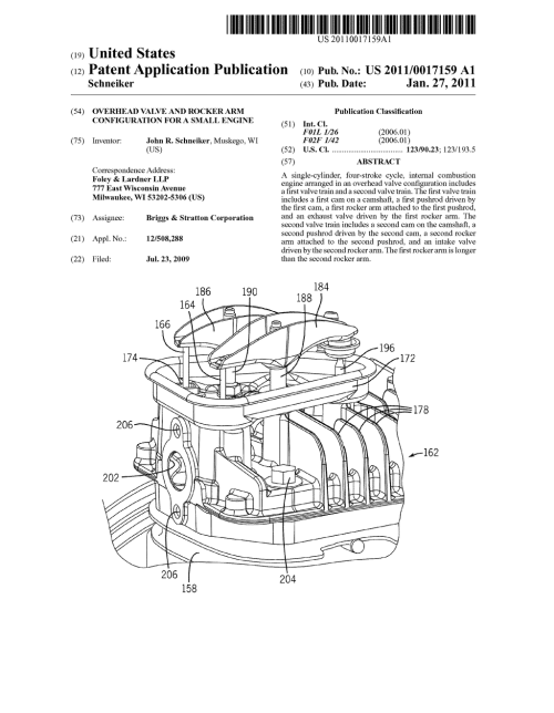 small resolution of overhead valve and rocker arm configuration for a small engine diagram schematic and