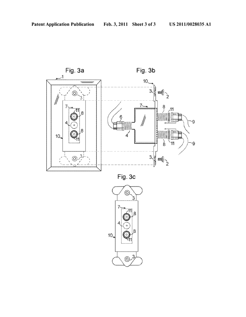 hight resolution of wall plate having integrated catv signal splitter diagram schematic and image 04
