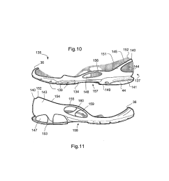 sole for a shoe in particular for a running shoe diagram schematic and image 12 [ 1024 x 1320 Pixel ]