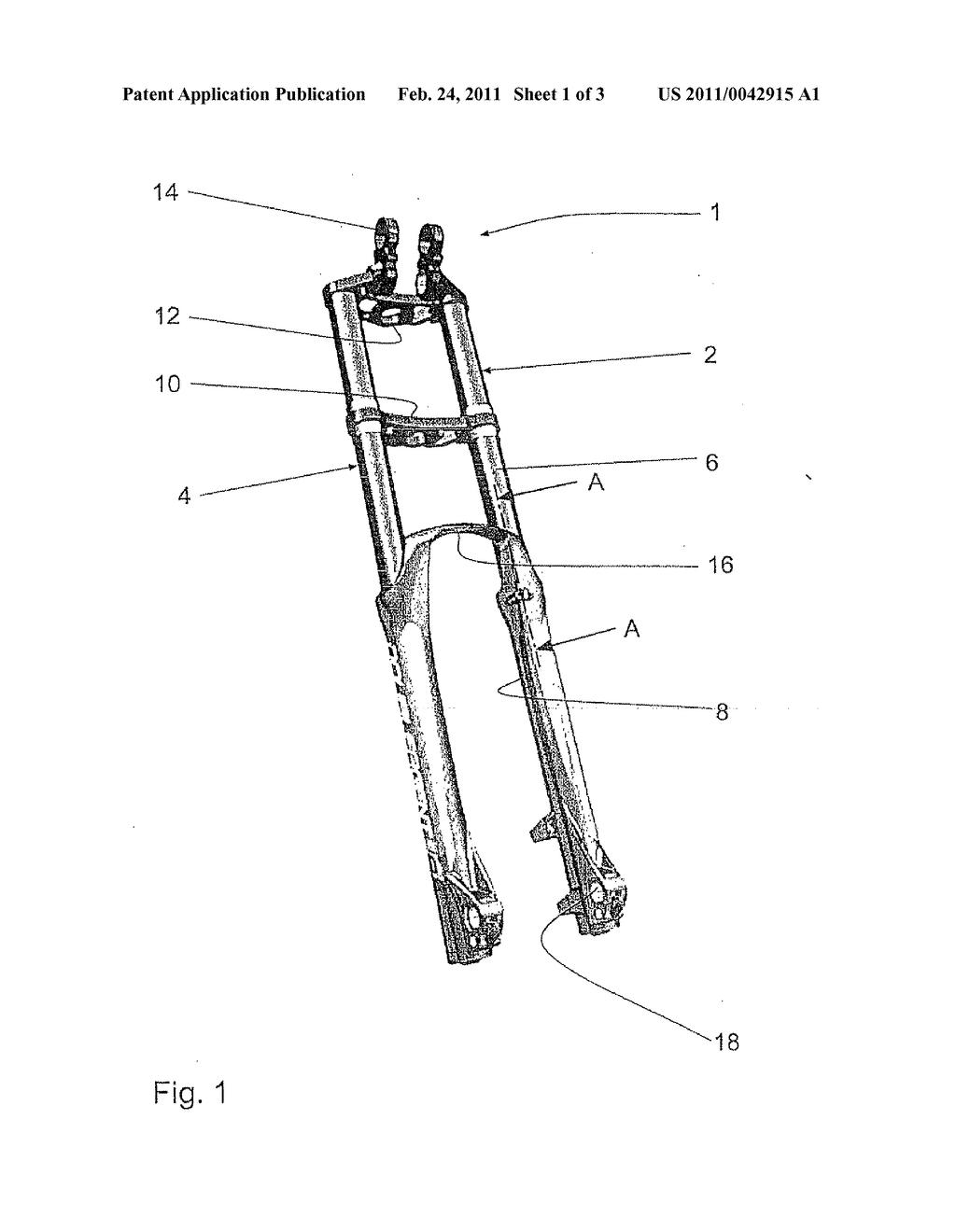 hight resolution of suspension fork diagram