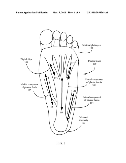 small resolution of foot pain relief device diagram schematic and image 02diagram of feet pain 21