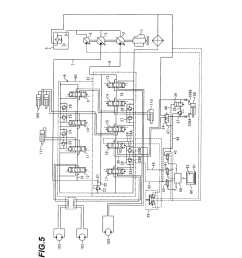 hydraulic circuit system for hydraulic excavator diagram schematic and image 05 [ 1024 x 1320 Pixel ]