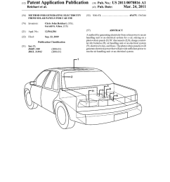 method for generating electricity from solar panels for car use diagram schematic and image 01 [ 1024 x 1320 Pixel ]