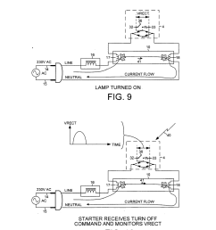dimming a multi lamp fluorescent light fixture by turning off an individual lamp using a wireless fluorescent lamp starter diagram schematic  [ 1024 x 1320 Pixel ]