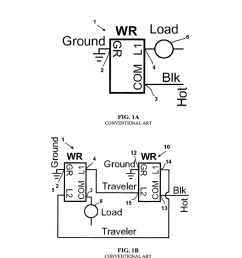 motion sensor switch for 3 way light circuit and method of lighting control using the same diagram schematic and image 02 [ 1024 x 1320 Pixel ]