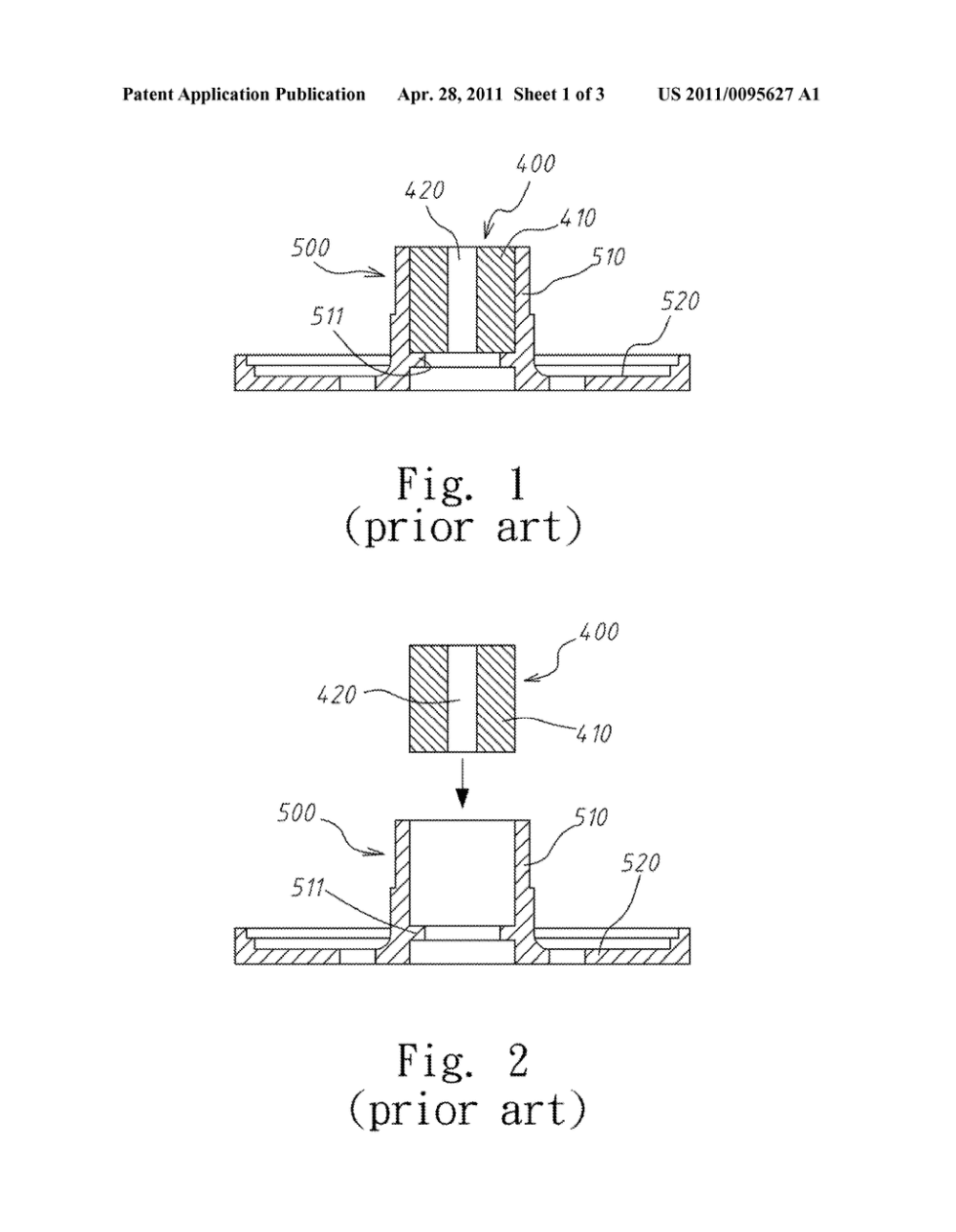 medium resolution of integrally molded plastic fan motor frame and sintered oil impregnated bearing structure and method of manufacturing the same diagram schematic