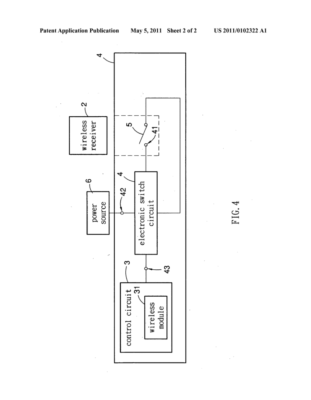 medium resolution of wireless mouse with electronic switch circuit diagram schematic and image 03