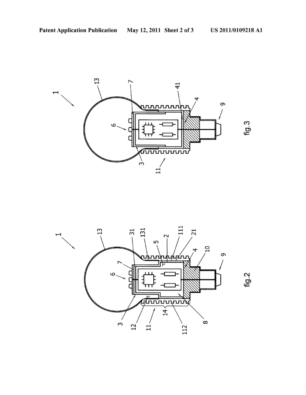 medium resolution of led light structure with internal electronic circuit diagram schematic and image 03