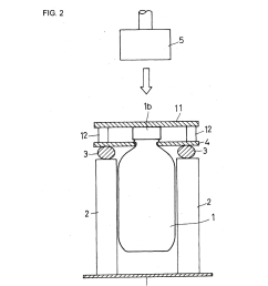 method and apparatus for testing water hammer strength of glass bottle diagram schematic and image 03 [ 1024 x 1320 Pixel ]