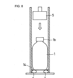 method and apparatus for testing water hammer strength of glass bottle diagram schematic and image 09 [ 1024 x 1320 Pixel ]