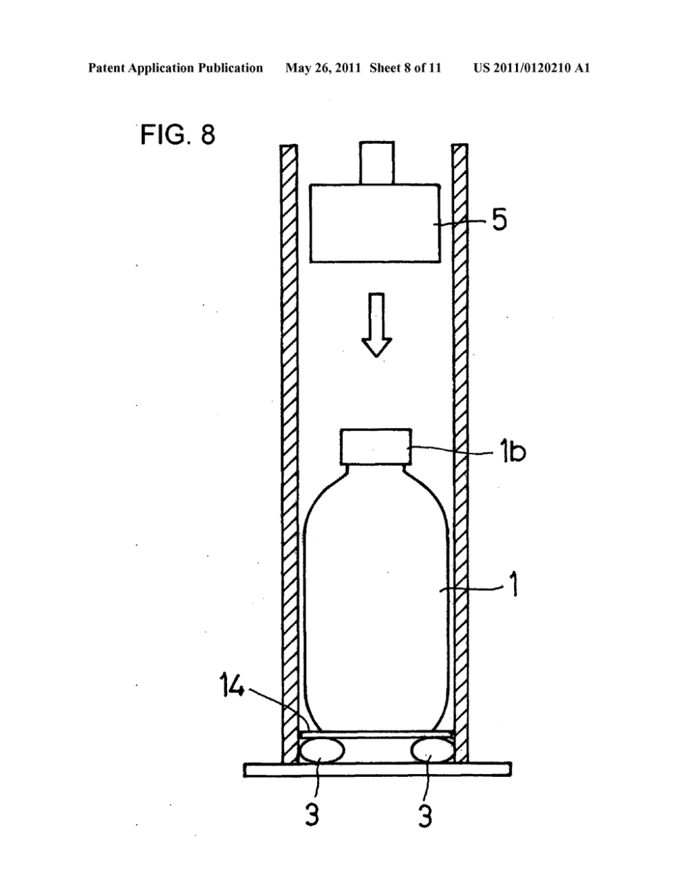 medium resolution of method and apparatus for testing water hammer strength of glass bottle diagram schematic and image 09