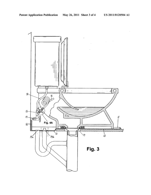 small resolution of complete sanitary system for the toilet floor base collection and drain structure mechanical apparatuses and plumbing method diagram schematic